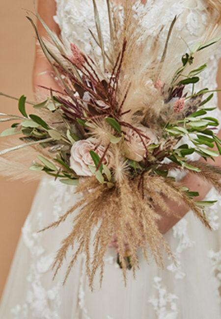 Bruidboeket-boho