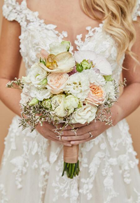 Bruidsboeket-rozen
